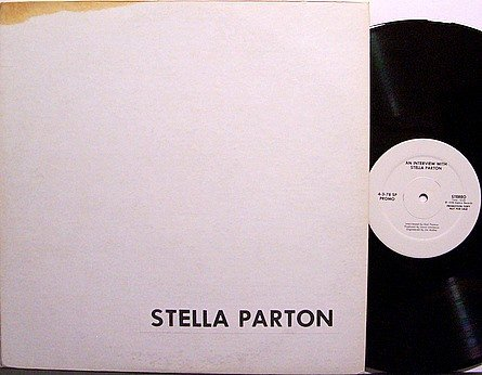 Parton, Stella - An Interview With Stella Parton - Promo Only - Vinyl LP Record - Country