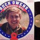 Owens, Buck - 20 Greatest Hits - Canada Pressing - Vinyl LP Record - Country