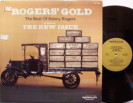 New Issue, The - Best Of Kenny Rogers Gold - Vinyl LP Record - Country
