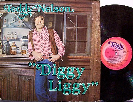 Nelson, Teddy - Diggy Liggy - Vinyl LP Record - Import - Country