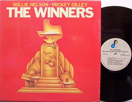 Nelson, Willie / Mickey Gilley - The Winners - Vinyl LP Record - Country