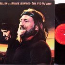 Nelson, Willie With Waylon Jennings - Take It To The Limit - Vinyl LP Record - Country