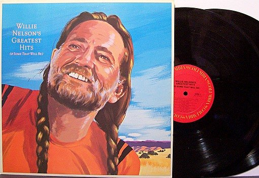 Nelson, Willie - Nelson's Greatest Hits & Some That Will Be - Vinyl 2 LP Record Set - Country