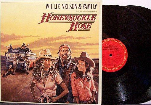 Nelson, Willie & Family - Honeysuckle Rose Soundtrack - Vinyl 2 LP Record Set - Country