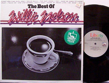 Nelson, Willie - The Best Of Willie Nelson - Vinyl LP Record - Country