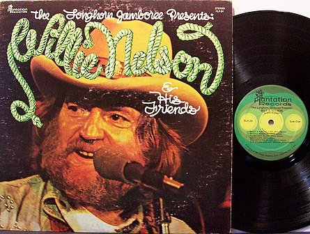 Nelson, Willie & His Friends - The Longhorn Jamboree Presents - Vinyl LP Record - Country