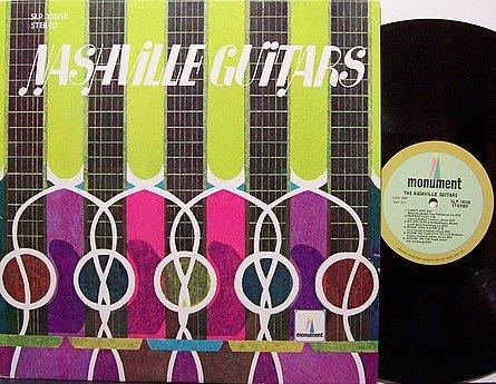 Nashville Guitars - Pete Drake / Wayne Moss etc - Various Artists - Vinyl LP Record - Country