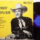 Montana Slim - Reminiscin' - Vinyl LP record - Wilf Carter - Country
