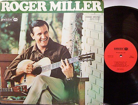 Miller, Roger - Self Titled (Smash) - Vinyl LP Record - Country