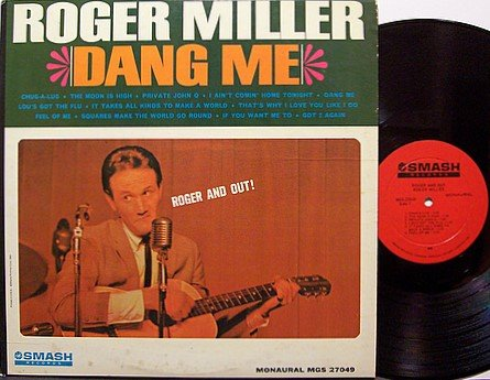 Miller, Roger - Roger And Out - Vinyl LP Record - Country