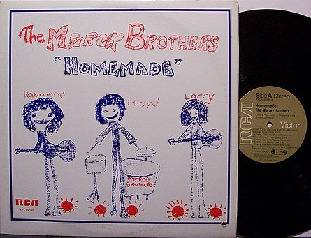 Mercey Brothers, The - Homemade - Vinyl LP Record - Country