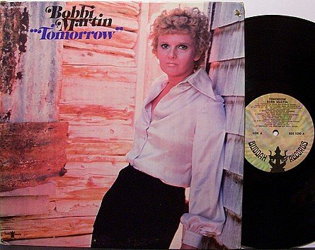 Martin, Bobbi - Tomorrow - Vinyl LP Record - Country