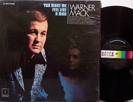 Mack, Warner - You Make Me Feel Like A Man - Vinyl LP Record - Country