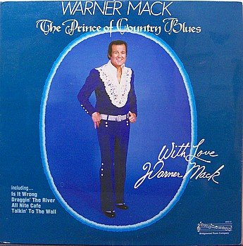 Mack, Warner - The Prince Of Country Blues - Sealed Vinyl LP Record