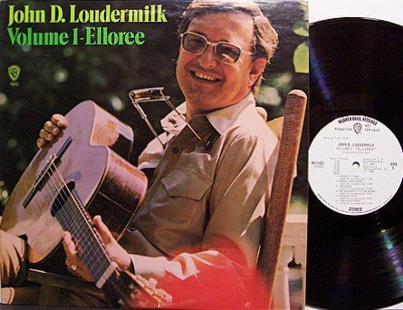 Loudermilk, John D. - Volume 1 Elloree - Vinyl LP Record - White Label Promo - Country