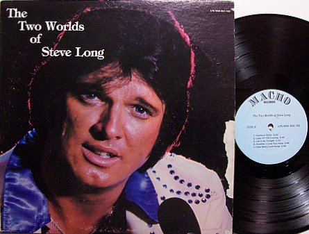 Long, Steve - The Two Worlds Of - Vinyl LP Record - Country