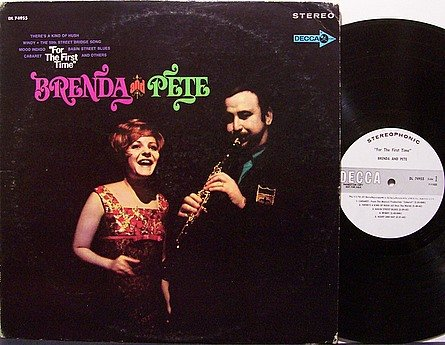 Lee, Brenda And Pete Fountain - For The First Time - Vinyl LP Record - White Label Promo - Country
