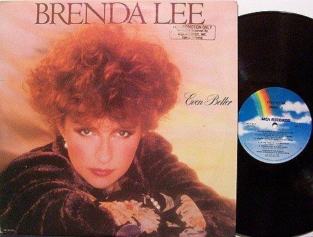 Lee, Brenda - Even Better - Vinyl LP Record - Promo - Country