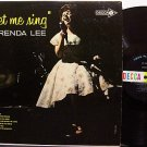 Lee, Brenda - Let Me Sing - Vinyl LP Record - Country
