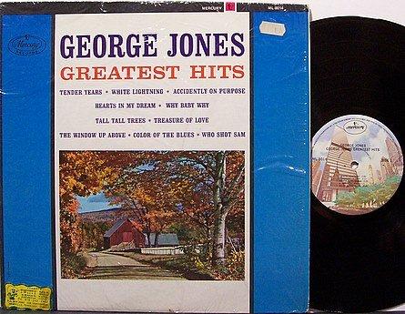 Jones, George - Greatest Hits - Vinyl LP Record - Country