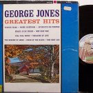Jones, George - Greatest Hits - Vinyl LP Record - Country