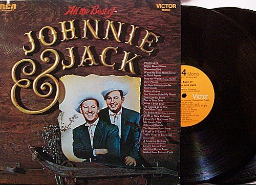 Johnnie & Jack - All The Best Of - Vinyl 2 LP Record Set - Country