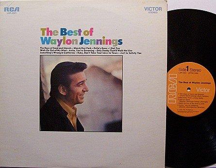 Jennings, Waylon - The Best Of - Vinyl LP Record - Country