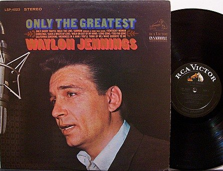 Jennings, Waylon - Only The Greatest - Vinyl LP Record - Country