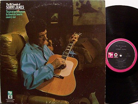 James, Sonny - The Hit Sounds Of Sonny James - Vinyl LP Record - Country