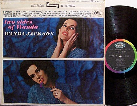 Jackson, Wanda - Two Sides Of Wanda - Vinyl LP Record - Country
