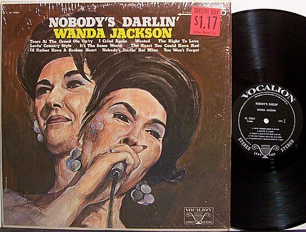 Jackson, Wanda - Nobody's Darlin' - Vinyl LP Record - Country