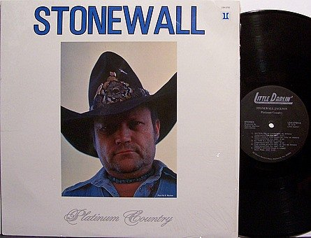 Jackson, Stonewall - Platinum Country - Vinyl LP Record