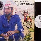 Inman, Jerry - You Betchum - Vinyl LP Record - White Label Promo - Country