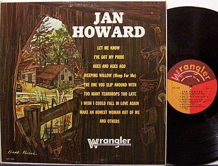 Howard, Jan - Self Titled (Wrangler Label) - Vinyl LP Record - Country