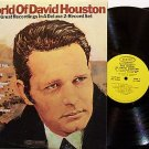 Houston, David - The World Of David Houston - Vinyl 2 LP Record Set - Country