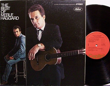 Haggard, Merle - The Best Of - Vinyl LP Record - Country