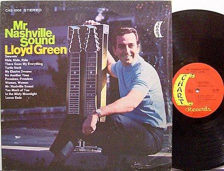 Green, Lloyd - Mr. Nashville Sound - Vinyl LP Record - Steel Guitar - Country