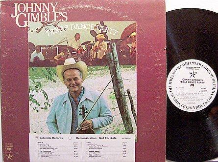 Gimble, Johnny - Johnny Gimble's Texas Dance Party - Vinyl LP Record - Promo - Country Bluegrass