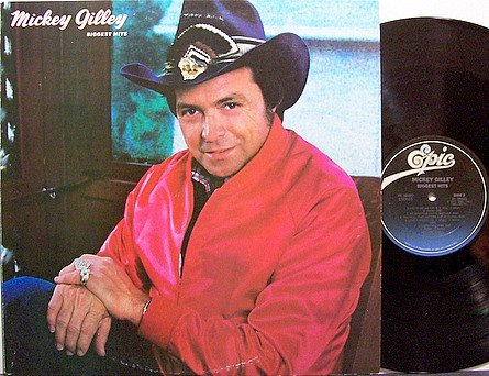 Gilley, Mickey - Biggest Hits - Vinyl LP Record - Country