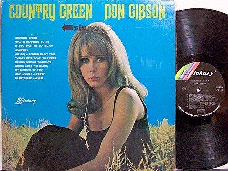 Gibson, Don - Country Green - Vinyl LP Record
