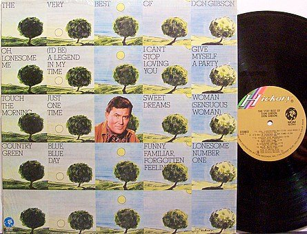 Gibson, Don - The Very Best Of Don Gibson - Vinyl LP Record - Country