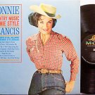 Francis, Connie - Country Music Connie Style - Vinyl LP Record