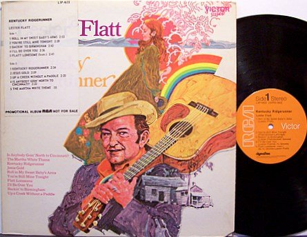 Flatt, Lester - Kentucky Ridgerunner - Vinyl LP Record - Promo - Country Bluegrass