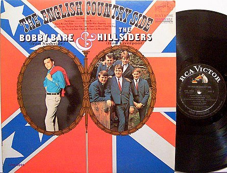 English Country Side, The - Bobby Bare & The Hillsiders - Vinyl LP Record