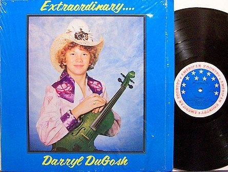 DuGosh, Darryl - Extraordinary - Vinyl LP Record - Texas Bluegrass
