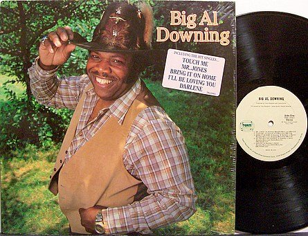 Downing, Big Al - Self Titled - Vinyl LP Record - Country
