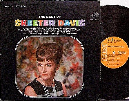 Davis, Skeeter - The Best Of - Vinyl LP Record - Country