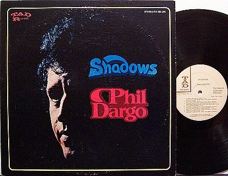 Dargo, Phil - Shadows - Vinyl LP Record - Country