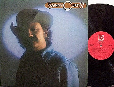 Curtis, Sonny - Self Titled - Vinyl LP Record - Country