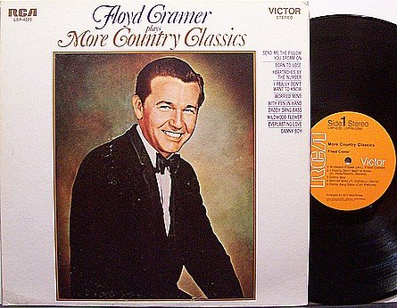 Cramer, Floyd - Plays More Country Classics - Vinyl LP Record